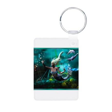 Best Seller Merrow Mermaid Aluminum Photo Keychain