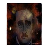Edgar Allan Poe Throw Blanket