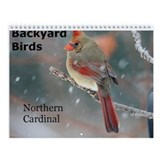 Backyard Bird Wall Calendar