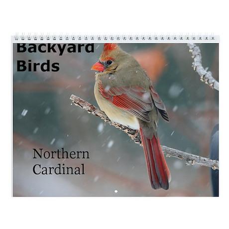 Backyard Bird Wall Calendar