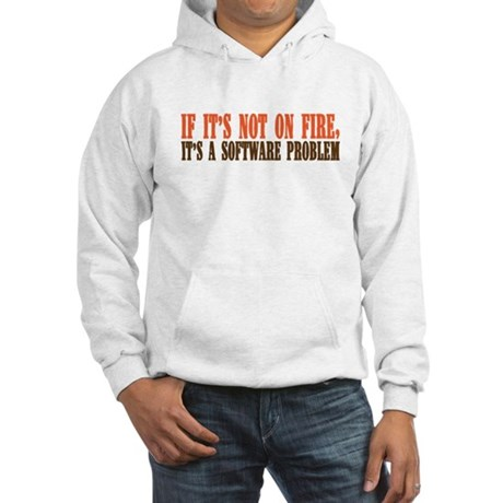 software problem Hooded Sweatshirt
