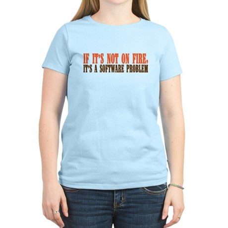 software problem Women's Light T-Shirt