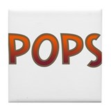 POPS Tile Coaster