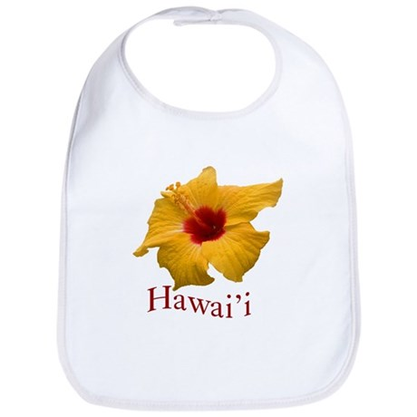 Yellow Hibiscus Bib