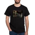 Isaac Newton Laws Motion Black T-Shirt