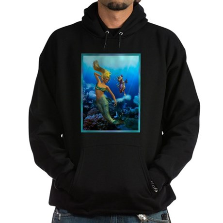 Best Seller Merrow Mermaid Hoodie (dark)