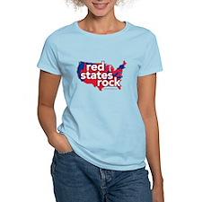 Red States Rock T-Shirt