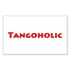 Tangoholic Decal