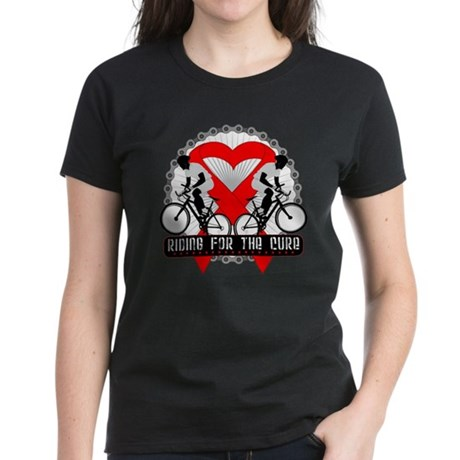 Blood Cancer Ride Cure Women's Dark T-Shirt