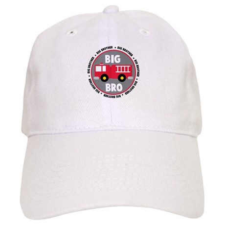 Big Brother Fire Truck Cap