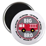 Big Brother Fire Truck Magnet
