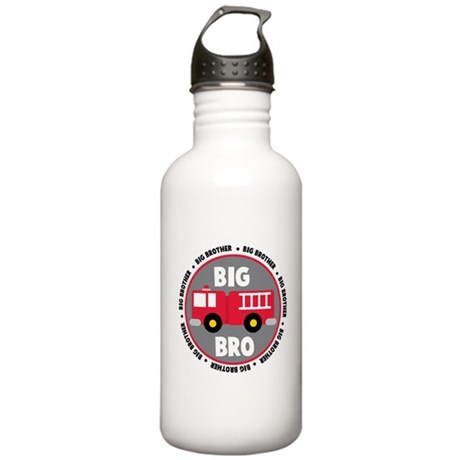 Big Brother Fire Truck Stainless Water Bottle 1.0L