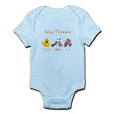 Future Girl Triathlete Infant Bodysuit
