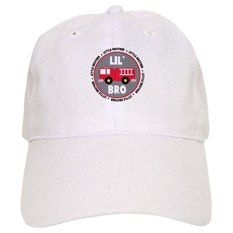 Lil Brother Fire Truck Cap