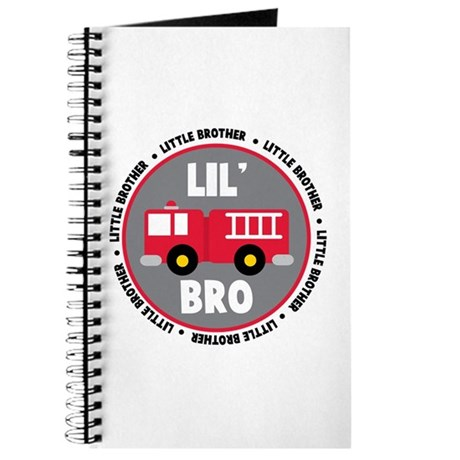 Lil Brother Fire Truck Journal