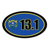 Nevada State Half Marathon 13.1 Decal