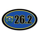 Nevada State Full Marathon 26.2 Decal