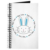 Hoppy Easter Bunny boy Journal