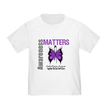 Crohn's Disease Butterfly Toddler T-Shirt