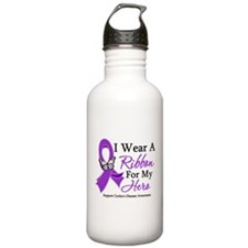 Crohn's Disease Hero Ribbon Water Bottle