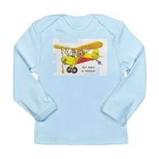 Fly With A Friend Long Sleeve Infant T-Shirt