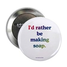 "Cute Soap making 2.25"" Button (10 pack)"