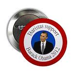 Baristas support Barack Obama button