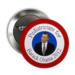 Pediatricians for Barack Obama 2012 pin