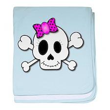 Cute Skull baby blanket