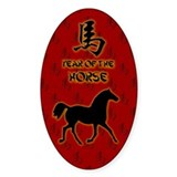 Year of the Horse Decal