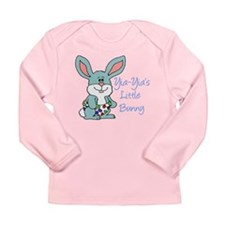 Yia-Yia's Little Bunny Long Sleeve Infant T-Shirt