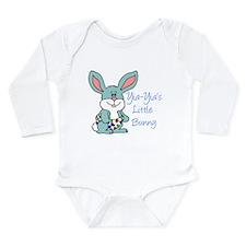 Yia-Yia's Little Bunny Long Sleeve Infant Bodysuit