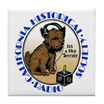 California Historical Radio S Tile Coaster