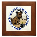 California Historical Radio S Framed Tile
