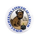 "California Historical Radio S 3.5"" Button (10"