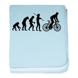 Cycling Evolution baby blanket