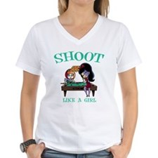 Shoot Like a Girl Shirt