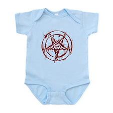 mY BLoODy pENTaGraM Infant Bodysuit