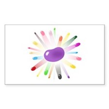 purple jellybean blowout Decal