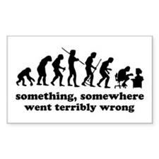 Something, somewhere went ter Decal