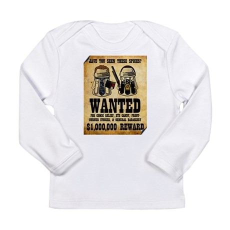 """Spices WANTED"" Long Sleeve Infant T-Shirt"