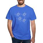 Batik Sea Turtles Dark T-Shirt