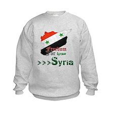 Freedom for Syria Sweatshirt
