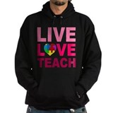 Live Love Teach Autism Hoody
