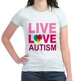 Live Love Autism T