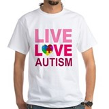 Live Love Autism Shirt