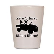 Save a Horse Shot Glass