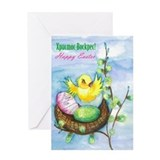 Ukrainian / English Easter Greeting Card