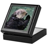Praying Otter Keepsake Box