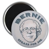 Bernie Speaks For Me 2.25&quot; Magnet (10 pack)